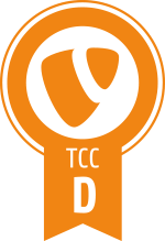 TYPO3 CMS Certified Developper badge